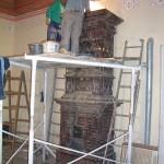 Bardejov - pec č. 2 (stavanie)
