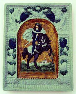 Veľké Uherce - Cisár Leopold (kópia - náhrada za ukradnutý diel)