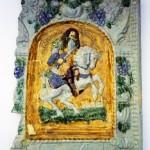 Veľké Uherce - Kurfürst von Sachsen (po zlepení zachovaných častí)